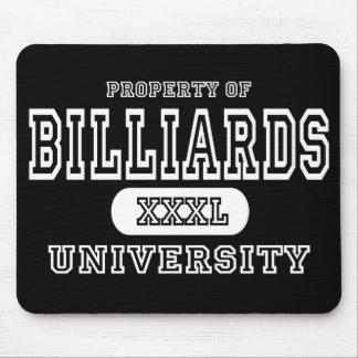 Billiards University Dark Mouse Pad
