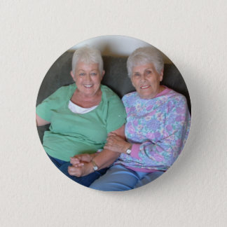 Billie and Jodell 2 Inch Round Button