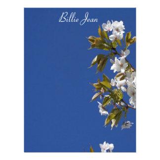 Billie Jean Blossom Letterhead