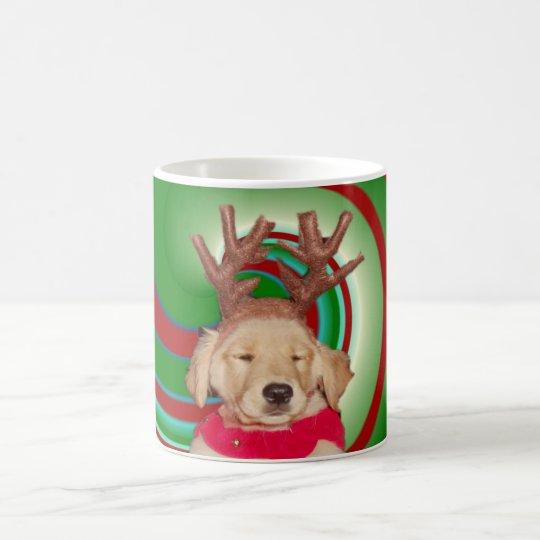 billie-the-golden-reindeer coffee mug