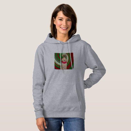 billie-the-golden-reindeer hoodie