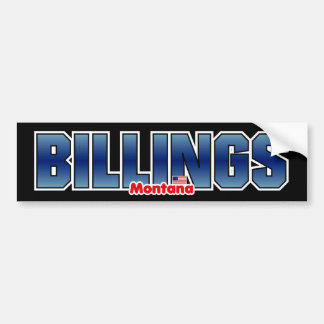 Billings Bumper Bumper Sticker