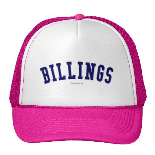Billings Trucker Hat