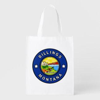 Billings Montana Reusable Grocery Bag
