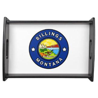 Billings Montana Serving Tray