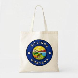 Billings Montana Tote Bag