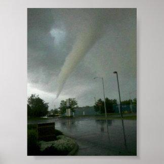 Billings MT tornado Poster