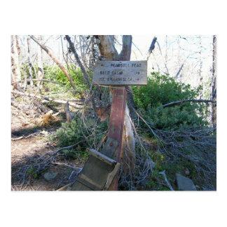 Billingslea Junction Sign Postcard