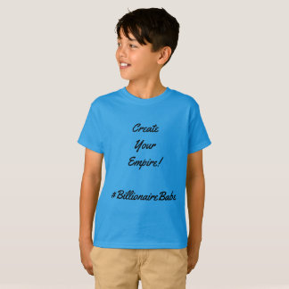 Billionaire Babe Kids Shirt