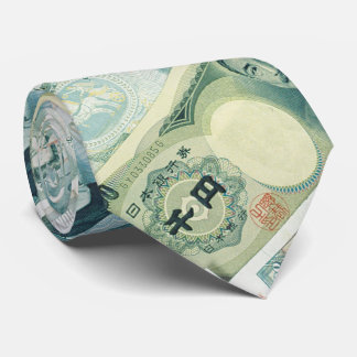 Bills - Money of the World | Great gifts Tie