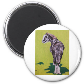 Billy 2 Inch Round Magnet