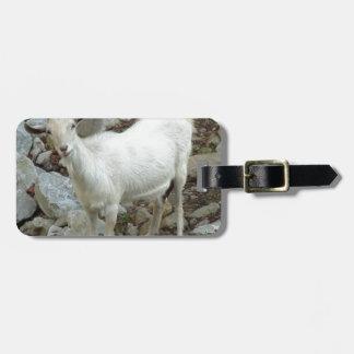 Billy Goat Luggage Tag
