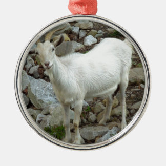 Billy Goat Metal Ornament