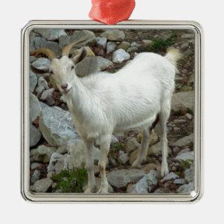 Billy Goat Metal Ornament