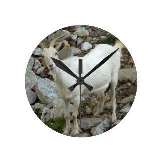 Billy Goat Round Clock