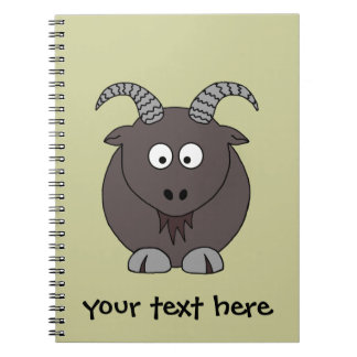 Billy Goat Spiral Notebook