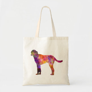 Billy in watercolor tote bag