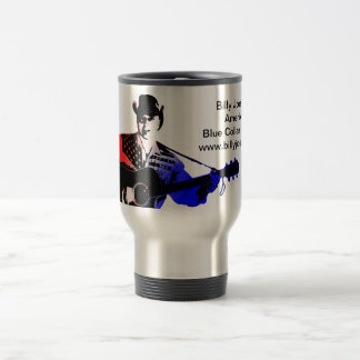 Billy Joe Lake Blue Collar Patriot Coffee Mug
