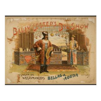 Billy Lestep's Big Show, 'Hungarian Necromancers' Postcard
