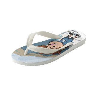 Billy-Ocean Kid's Flip Flops