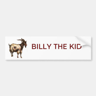 BILLY THE KID BUMPER STICKER