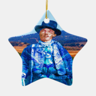 Billy the Kid Ceramic Ornament