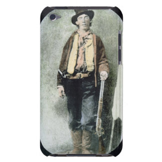 Billy the Kid (coloured engraving) iPod Case-Mate Cases