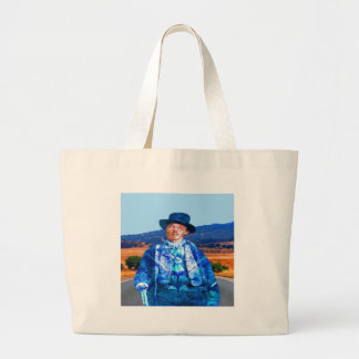 Billy the Kid Large Tote Bag