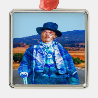 Billy the Kid Metal Ornament