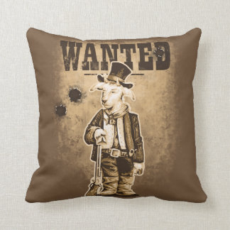 Billy the Kid Throw Pillow