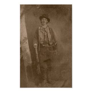 Billy The Kid -- Wild West Poster