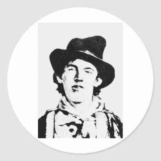 Billy The Kid William H Bonney Outlaw Stickers