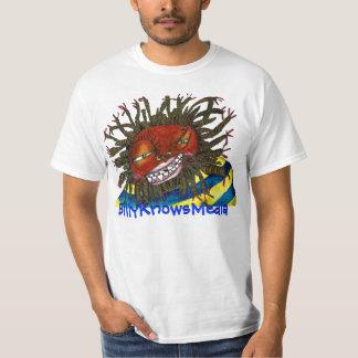 BillyKnowsMedia QRCode tshirt men