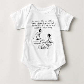 Billy's Easter Lesson Baby Bodysuit