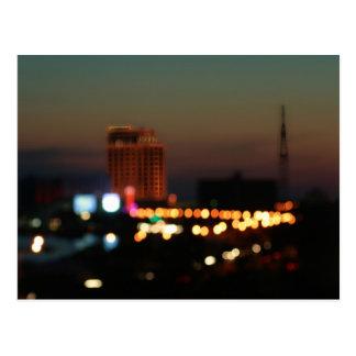 Biloxi Bokeh Postcard