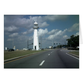 Biloxi Lighthouse Card