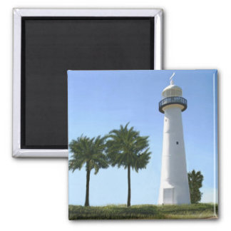 biloxi lighthouse magnet