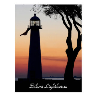 Biloxi Lighthouse Postcard