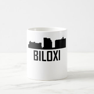 Biloxi Mississippi City Skyline Coffee Mug