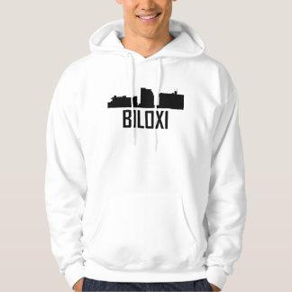 Biloxi Mississippi City Skyline Hoodie