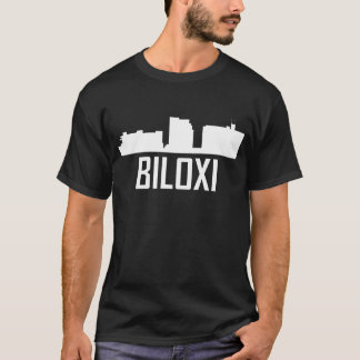 Biloxi Mississippi City Skyline T-Shirt
