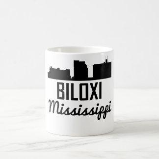 Biloxi Mississippi Skyline Coffee Mug
