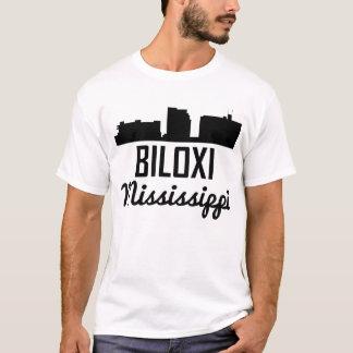 Biloxi Mississippi Skyline T-Shirt