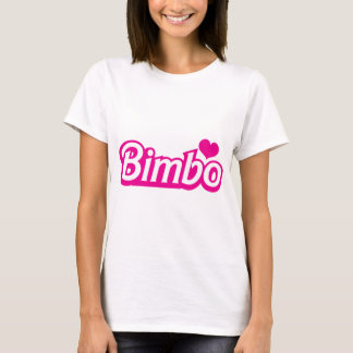 Bimbo pretty little dolly font T-Shirt