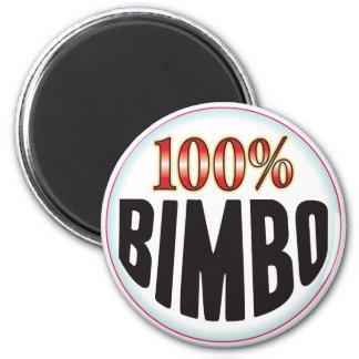 Bimbo Tag Fridge Magnet