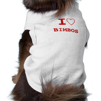 BIMBOS I heart (love) Pet Clothing