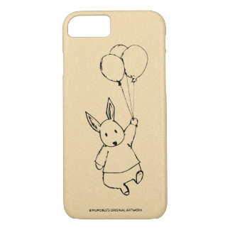 Bimumonji's Rabbit Balloon Apple iPhone 7/8 case
