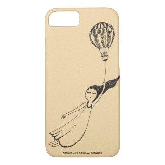 Bimumonji's Windy Girl Apple iPhone 7/8 case