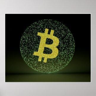 Binary Bitcoin Poster