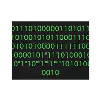 Binary Canvas Print